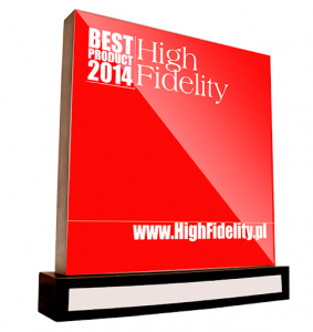 Best Product 2014 Award High Fidelity