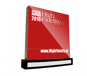 High Fidelity Special Award 2016