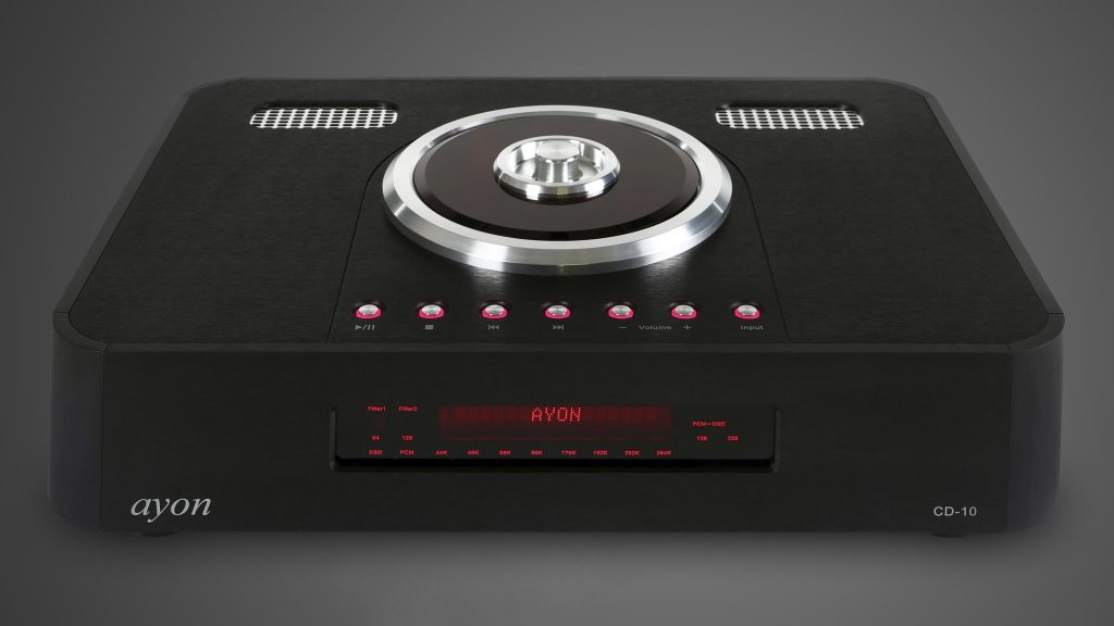 Ayon Audio CD-10 II front 4K